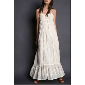 Andersen & Lauth Anthro Tihara Boho Maxi Dress